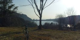菊池公園-竜門ダム往復